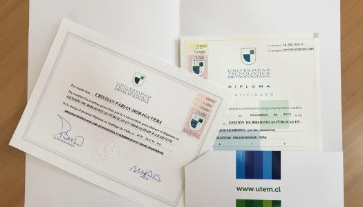 ¡Ya tenemos los primeros titulados del Diplomado de Gestión de Bibliotecas Públicas en modalidad e-learning!
